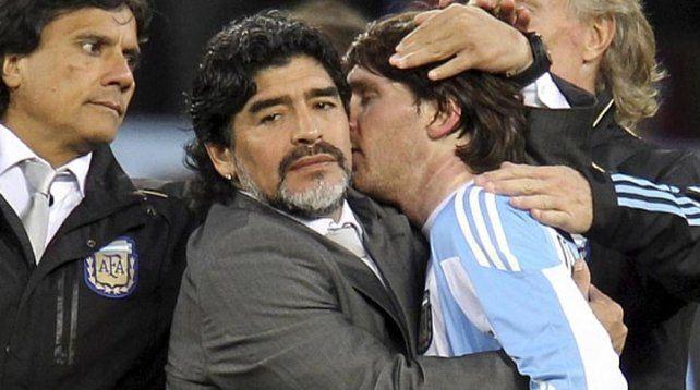 Maradona rompió el silencio: el 10 explicó lo que quiso decir de Messi