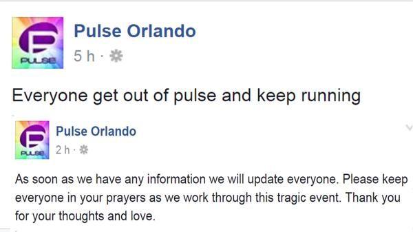 Los dramáticos mensajes de los dueños de Pulse