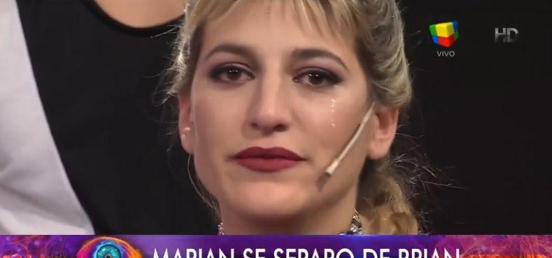 Marian Farjat se quebró al aire al hablar de su separación con Brian
