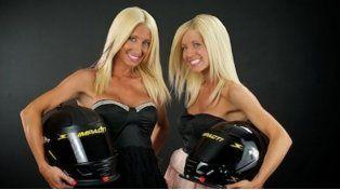 Las gemelas que compiten y encienden las pistas del Nascar