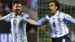 Tiembla Batistuta: Messi quedó a un gol de ser el goleador histórico de la Selección
