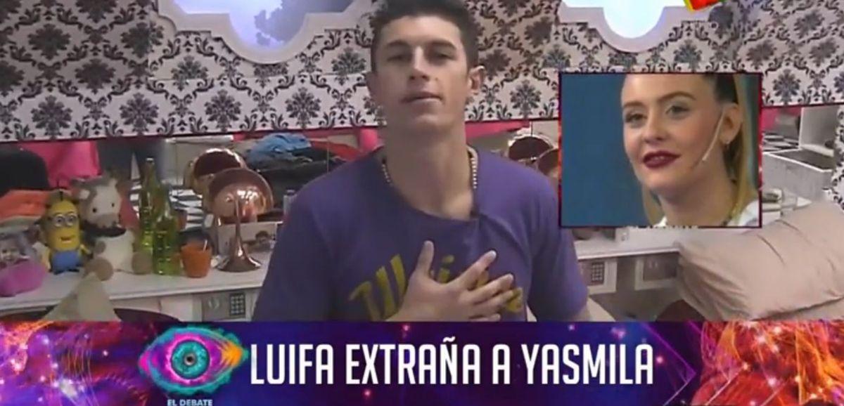El mensaje de amor de Luifa a Yasmila: Cuando salga de acá te voy a buscar