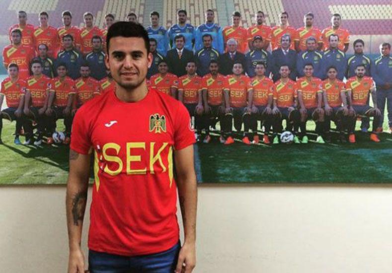 El jugador será dirigido en la próxima temporada del fútbol trasandino por Martín Palermo.