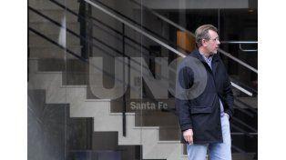 Investigado. Germán Lerche administró las arcas del Club Colón durante más de seis años / Foto: Juan Manuel Baialardo - Uno Santa Fe