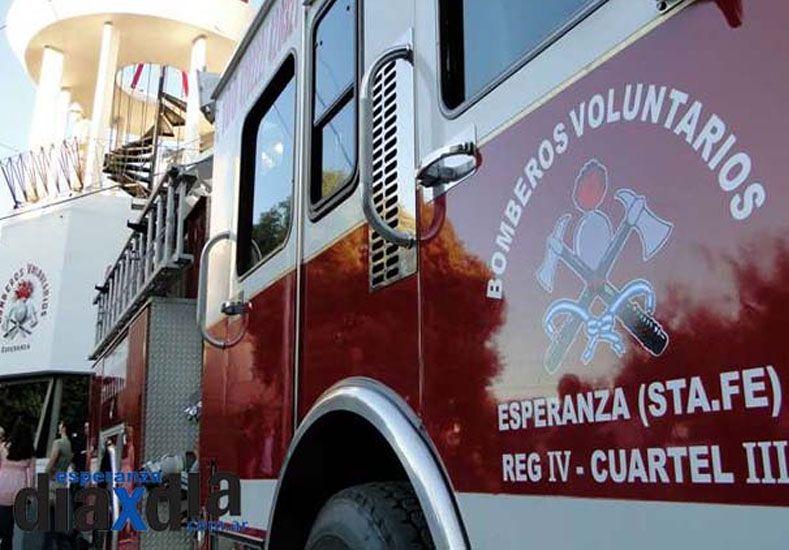 Falleció un bombero voluntario de Esperanza mientras realizaba una práctica