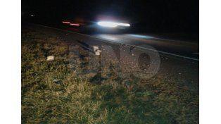 Detuvieron a dos jóvenes que colocaban piedras en la autopista
