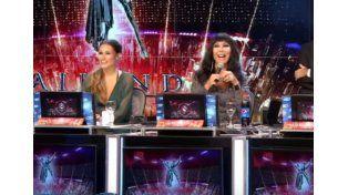 Gritos, reproches y reclamos entre Moria y Pampita en una emisión especial del Bailando