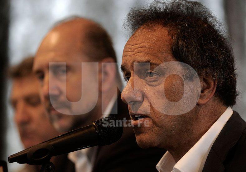 Presencia. El excandidato a presidente aseguró su presencia. También estará el senador nacional Omar Perotti / Foto: Juan Manuel Baialardo - Uno Santa Fe