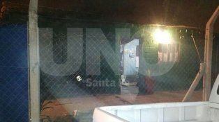 La vivienda allanada por la PDI en Alberdi y Larrea.