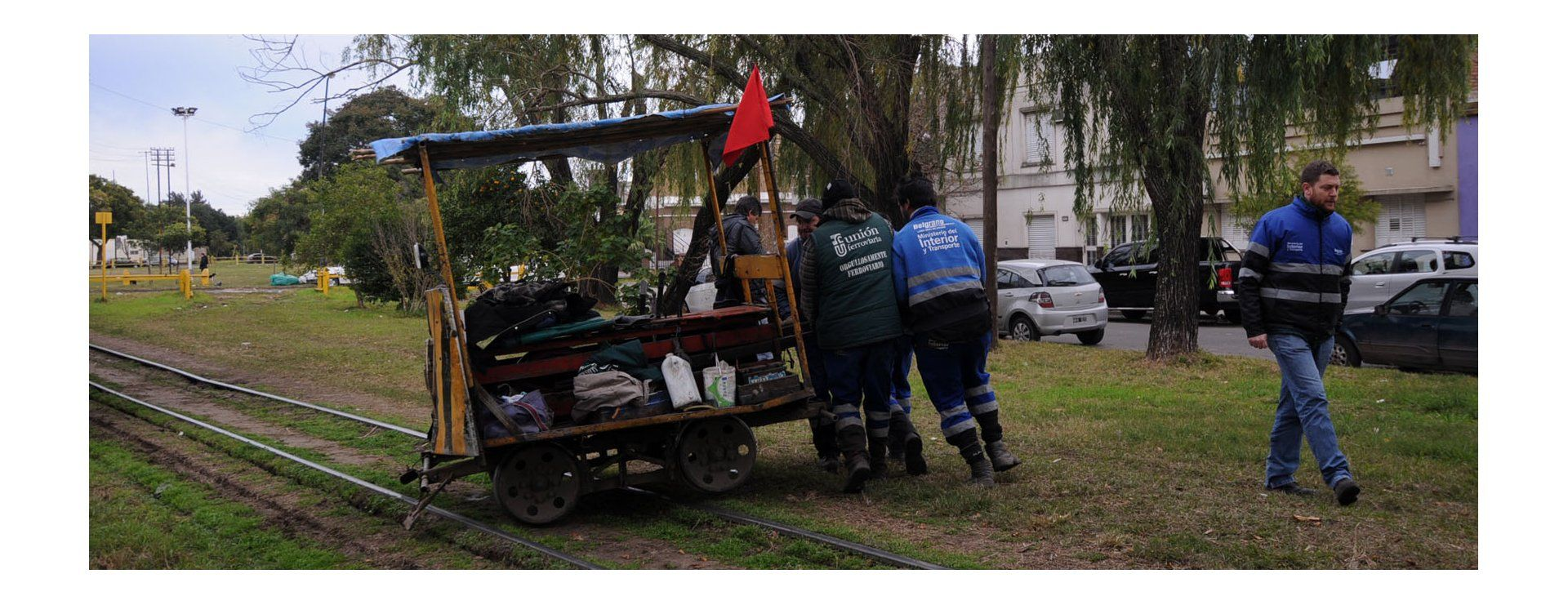 Descarriló un tren del Belgrano cargas