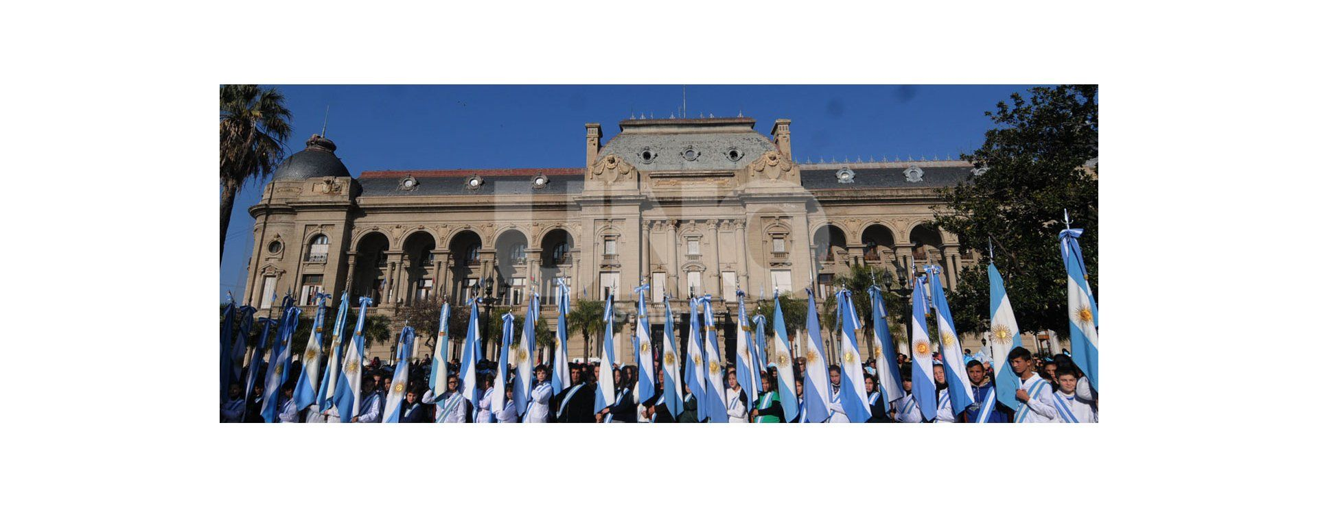 Festejos por el Día de la Bandera Nacional en Santa Fe