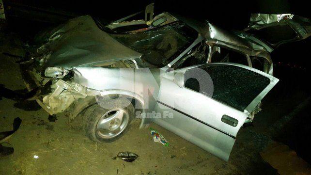 Choque fatal en Hersilia: dos nenes murieron y sus padres están graves