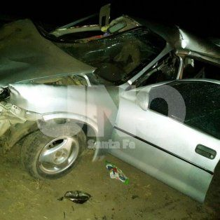 accidente fatal en la ruta 34, a la altura de la localidad de hersilia