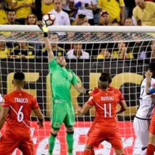 colombia elimino a peru por penales y es semifinalista