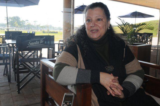 La investigadora. Se mostró preocupada por la sensación de impunidad que queda en los casos de femicidios. Foto: José Busiemi