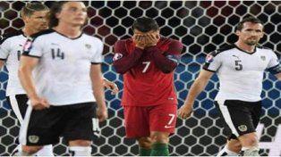 Messi, Messi, el insólito grito de los austríacos que enloqueció a Cristiano Ronaldo