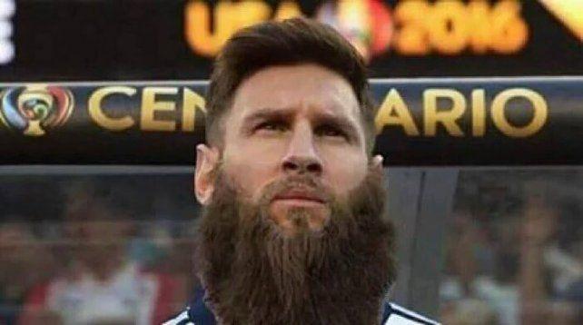 ¿Messi banca la barba hasta Rusia 2018?
