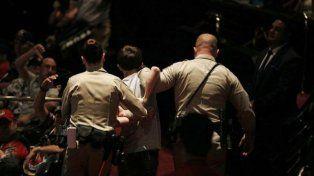 Un joven intentó matar a Donald Trump durante un acto de campaña en Las Vegas