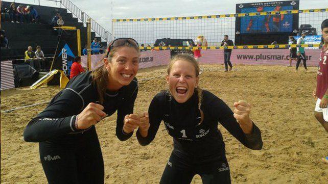Las santafesinas Julia Benet y Virginia Zonta irán por la ansiada clasificación para Río de Janeiro 2016.