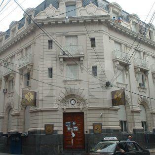 Privatizado. El Banco Provincia pasó a manos de los hermanos Rohm en 1998 por 58 millones de pesos.