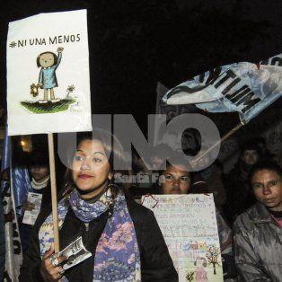 Ni Una Menos. Loyola destacó el compromiso de la comunidad en la marcha del 3 de junio.