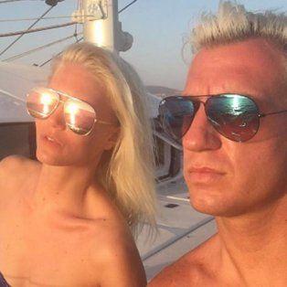 maxi lopez y su novia, muy hot de vacaciones