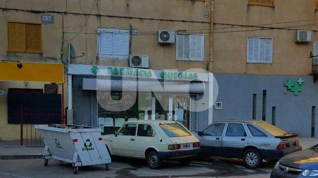 Sorprendieron y detuvieron a tres delincuentes cuando intentaban robar una farmacia
