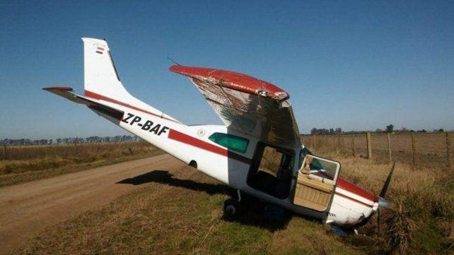 Habíamos avisado al comisario porque en otras oportunidades vimos este tipo de aviones