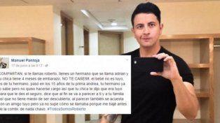 #TodosSomosRoberto: la infidelidad escuchada en un colectivo que estalló en las redes