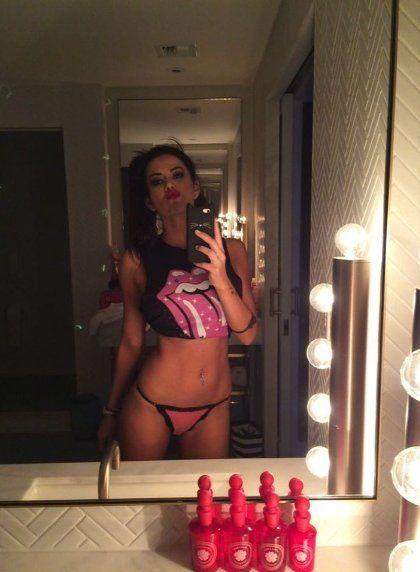 Los hackers no perdonaron que Karina Jelinek se tomara fotos desnuda en la bañera