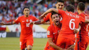 Después de la demora por tormenta, Chile venció a Colombia y es finalista