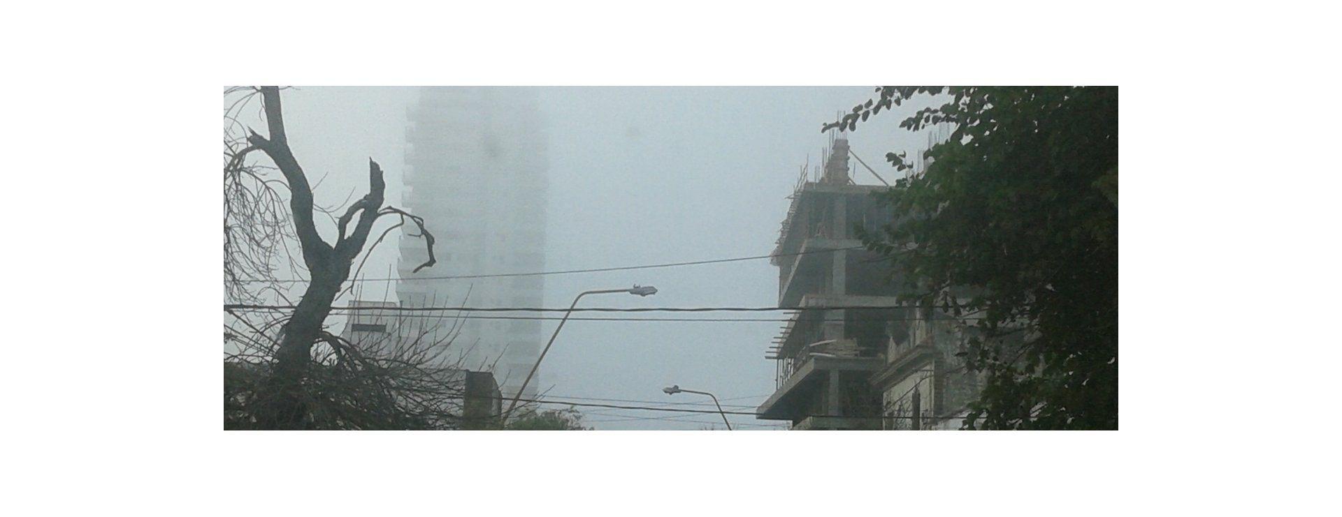 Santa Fe amaneció el miércoles y jueves con neblina