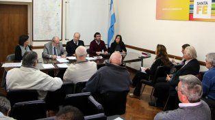 Encuentro. Se trataron temas de agenda del movimiento cooperativo y mutual de la provincia.