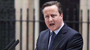 Cameron anunció que renunciará en octubre por el Brexit
