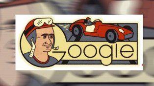 Google rinde homenaje a Juan Manuel Fangio en el día de su 105 cumpleaños