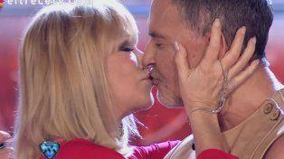Soledad Silveyra y Osvaldo Laport se besaron como en las novelas
