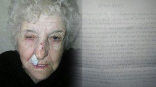 la mujer tiene 80, fue asaltada y en la comisaria le pidieron un insolito examen