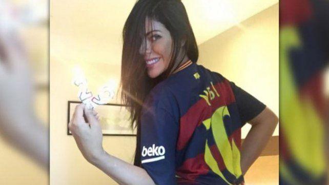 Las fotos hot de Miss Bumbum para Messi y el mensaje para Antonella