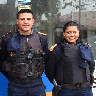 el gran gesto de la policia comunitaria en santo tome