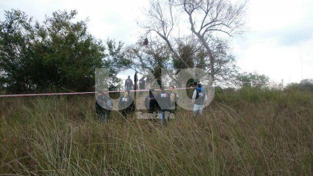 A metros de un arroyo. El cuerpo del matador fue encontrado a las 9.30 de la mañana del viernes.