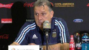 Martino dijo que Di María está a disposición y sentenció: No podemos perder otra final