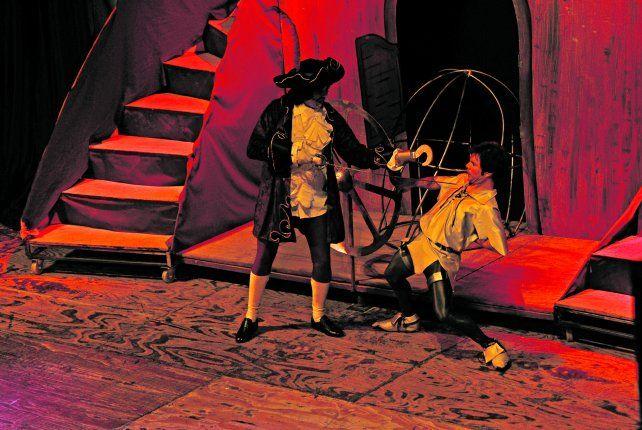 Peter Pan. Es una creación del grupo teatral El Cuarto de Máquinas.
