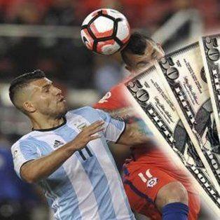 argentina y chile, el otro partido entre las apuestas