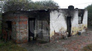 Ceres: pudo escapar de su casa mientras esta se incendiaba