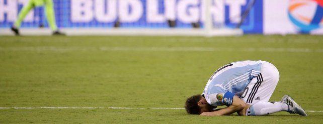 Copa América: Argentina se quedó otra vez con las manos vacías