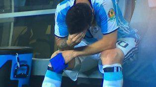 El karma de Messi con la Selección: el 10 falló un penal clave en la final