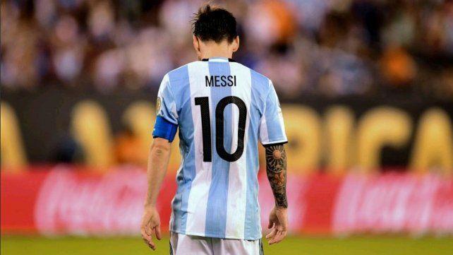 Bomba de Messi: Se terminó la Selección para mí