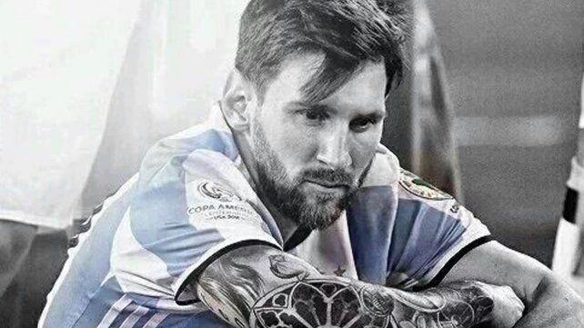 #NoTeVayasLio: la gente le pide a Messi que no deje la Selección