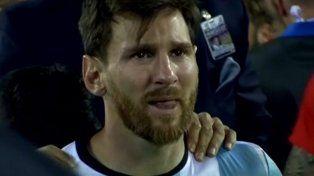 La primera foto de Messi luego de la renuncia