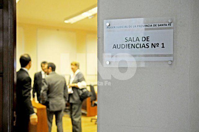 Arrestado. La resolución judicial fue dictada ayer en la Sala 1 de los tribunales santafesinos.